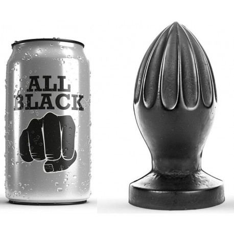 ALL BLACK PLUG ANAL 12CM