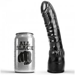 ALL BLACK DILDO NEGRO REALISTICO 20CM