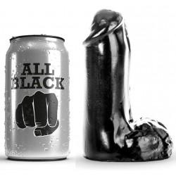 ALL BLACK DILDO REALISTICO 13CM