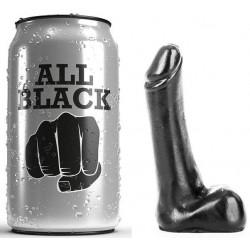 ALL BLACK DILDO 9CM