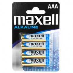 MAXELL BATTERY ALCALINA AAA LR03 BLISTER*4 EU