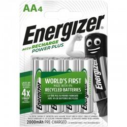 ENERGIZER PILAS RECARGABLES AA4 BLISTER 4